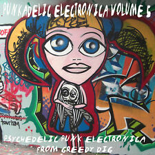 PUNKADELIC ELECTRONICA VOL 5 COMPILATION CD  VARIOUS / PUNK-TECHNO