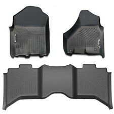 OEDRO Liners Floor Mats fit for 2012-2019 Dodge Ram 1500 Crew Cab All Weather