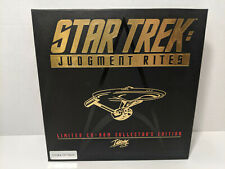 Star Trek: Judgement Rites Limited CD-ROM Collector's Edition (PC, 1995) No VHS