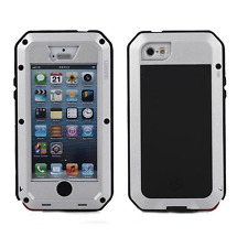 Case for Iphone 5/5s/SE Waterproof Shockproof Steel Metal Hybrid Armor Cover