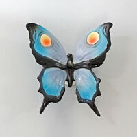 9997540 ens Estatuilla de porcelana wand-schmetterling Azul 9x9cm