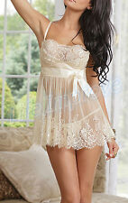 Cotton Glamour Babydoll Short Women's Nightwear