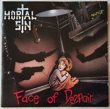 Mortal Sin – Face Of Despair - CD - 1989 - First Press - Vertigo - Metallica