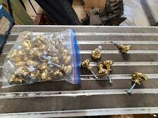35 Solid Brass Knobs Pull Handle Kitchen Cabinet Door Wardrobe