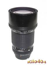 SMC Pentax 200mm 1:2,8 * TOP * Manuell * K Bajonett * K-1 * K-50 * KP * K-3 *