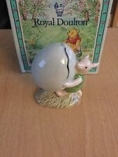 ROYAL DOULTON WINNIE THE POOH FIGURE Piglet And The Balloon WP5 - boxed