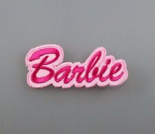 IRON PATCH LOGO embroidered sew BARBIE doll kid toy cartoon lady girl