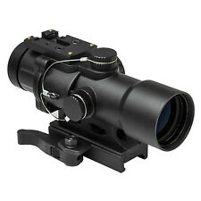 NcStar SEECPRQ3532G Compact Prismatic Optic (CPO) 3.5X32 Dual Illuminated Scope