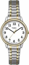 Timex Women's TW2P78700 Easy Reader Two-Tone Stainless Steel Expansion Band...