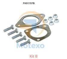 FK91157B Exhaust Fitting Kit for FORD FOCUS ST170 Catalytic Converter BM91157H