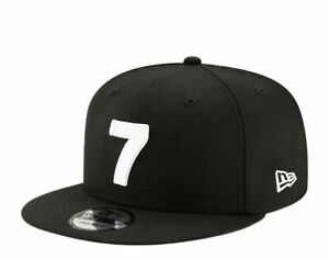 New Era X Compound 9FIFTY - 7 - Black/White Snapback Hat 12485832 One Size