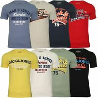 Jack & Jones 'JJELOGO' Mens Short Sleeved T-Shirt