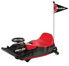 New Razor Crazy Cart Shift Speeds Of 8 mph Foot Go Pedal Drive System 24v