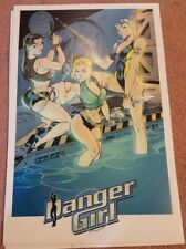 "Danger Girl 1998 11"" x 17"" J Scott Campbell Print"