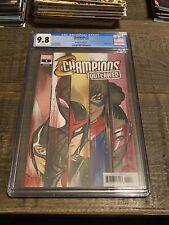 Marvel Champions Outlawed # 1 CGC 9.8 1:50 Peach Momoko Variant