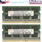 2PCS 4GB Laptop Memory RAM For Hynix 2RX8 DDR3 PC3-12800S 1600MHZ SODIMM picture