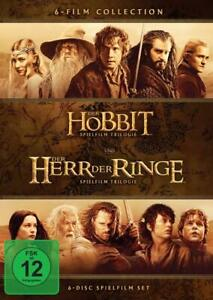 Mittelerde 6-Filme-Collection (DVD) - NEU OVP (Der Herr der Ringe / Der Hobbit)