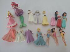 Polly Pocket Dolls Disney Princess Ariel Cinderella Sleeping Beauty Jasmin Belle