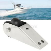 Marine Boat Bow Anchor Roller Rubber For Fixed Yacht Docking Stainless