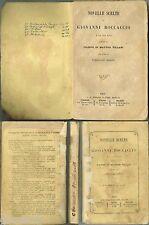 Boccaccio, Novelle scelte e la sua vita (1869) Paravia
