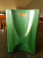 "Vintage Green Royal Haeger Vase Pottery Farmhouse Decor apx 5.5"" tall"