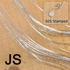 50X Women Men Link Chains Necklace For Pendant 18 Inches Jewelry Making Findings