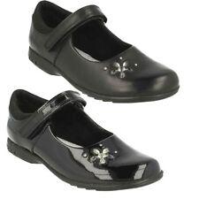 Scarpe nere con luci per bambine dai 2 ai 16 anni