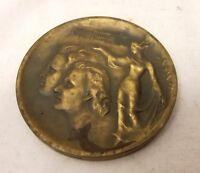 Vtg Bronze Finland Medallion Helsinki Nouveau Medal Universitas Helsingiensis