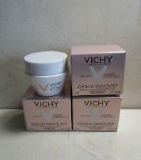 Vichy (Lot Of 3) Idealia Skin Sleep Recovery Night Gel-Balm 0.51 Oz Boxed