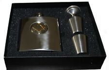 Woodford Masonic Square and Compass Hip Flask Set
