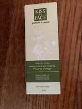 Kiss My Face Clean for a Day Creamy Face Cleanser Normal to Dry 4 Fl Oz Tube NIB