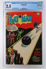 Batman #83 - CGC 2.5 GD+ DC 1954!