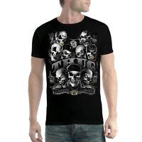 Thug Life Skulls Men T-shirt XS-5XL New