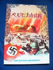 135.1972 OSVOBODZHDENIE: BITVA ZA BERLIN Japan Vintage PROGRAM