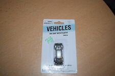 Boley Ho Scale Silver Volkswagen Beetle Bug 2020-6 New On Card