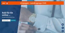 Landingpage | CMS | Bald für Sie online