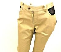 Michael Kors Women's Basic Pants SZ 4, 6, 8 Two Toned Tan Brown Bootcut Career