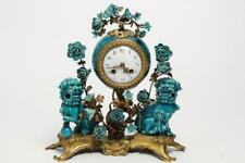 Louis Xvi Bronze & Chinese Porcelain Clock Lot 150