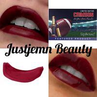 💋LipSense Limited Release CRIMSON Lip Color 🎁FREE Lip Scrub Sample