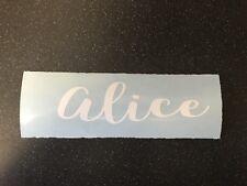 Personalised Name Water Bottle Vinyl Decal Vinyl Decals