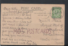 Family History Postcard - Preece - Sanatorium, Weston-Super-Mare RF3399