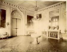 France, Versailles, Salle à manger Vintage Albumen Print Tirage albuminé  21