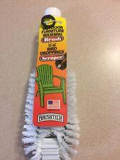 Brushtech Outdoor Washing Brush with Bird Droppings Scraper