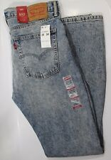 Mens Levis 510 Skinny Stretch Denim Construction 34 x 34 MSRP $79 NWT Authentic