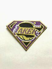 LA Lakers NBA Jersey Super Patch Staples Center Iron On Sew Hat Shirt Jacket