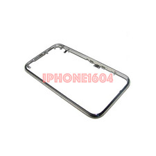 iPhone 3GS Chrome Front Bezel Frame Cover Replacement Repair Part - NEW - CAD