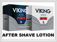 VIKING After Shave ACTIVE / SENSITIVE Refresh & Soften Irritated Skin 100 ml