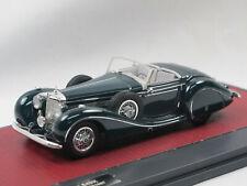 Matrix 1939 Mercedes-Benz 540K Spezialroadster Sindelfingen #421987 grün 1/43