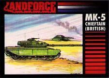 1991 Crown Landforce Series 2 #8 Cheftain MK-5 Main Battle Tank