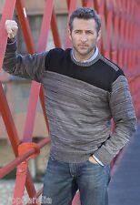 Jersey  Hombre Suéter Tricot Sweater Maglione Pull MASSANA SPAIN  Talla/Size XXL